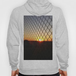 Sunset over the Fence Hoody