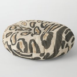 Wild Cats Spots and Stripes Pattern Floor Pillow