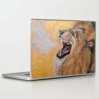 fierce Laptop & iPad Skins featuring Fierce by NicoleFaye
