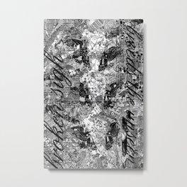 Type Work Metal Print