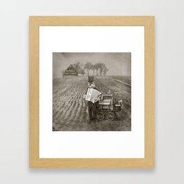 Dr. Pierce, Snakeoil Salesman Framed Art Print
