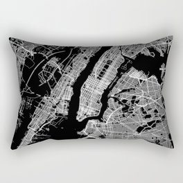 New York map Rectangular Pillow