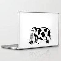 meat Laptop & iPad Skins featuring Happy Meat by nataly