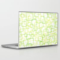 jojo Laptop & iPad Skins featuring #52. JOJO - Squares by sylvieceres