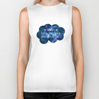 fault in our stars Biker Tanks featuring The Fault In Our Stars by CATHERINE DONOHUE