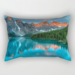 Alberta Canada Lake Rectangular Pillow