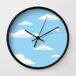 Cloudscape - Blue Wall Clock