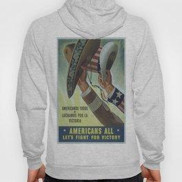 Vintage poster - Americans All Hoody