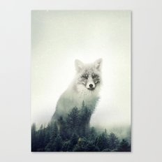 Fox. Into the Wilderness #02 Canvas Print