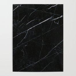 Marble black lover Poster