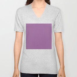 Purple #996398 Unisex V-Neck