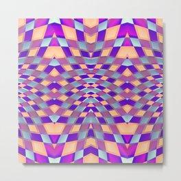 Geometric Kaleidoscope G423 Metal Print