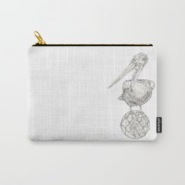 Holding on - The Dalmatian Pelican Carry-All Pouch
