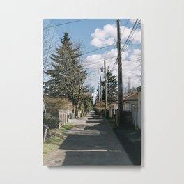 Streets and Alleys [III] Metal Print