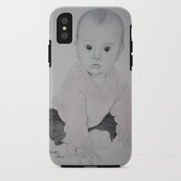 A little babied iPhone Case