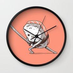 Samurai sushi - Salmon Wall Clock