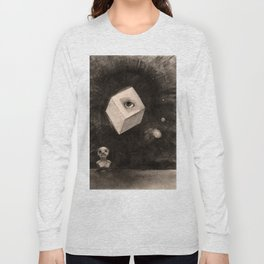 "Odilon Redon ""The Cube"" Long Sleeve T-shirt"