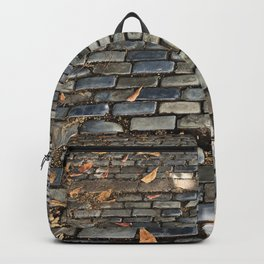 Old pavement Backpack