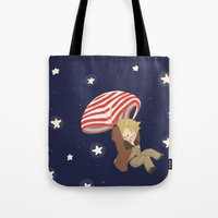 hetalia Tote Bags featuring Americhute by gohe1090