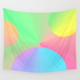 Re-Created  DOTS 1 by Robert S. Lee  Wall Tapestry