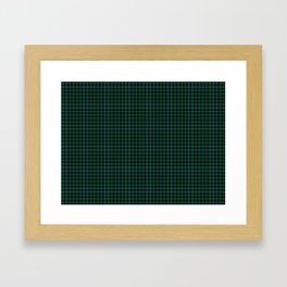 Lamont Tartan Framed Art Print