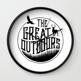 GREAT OUTDOORS Wall Clock
