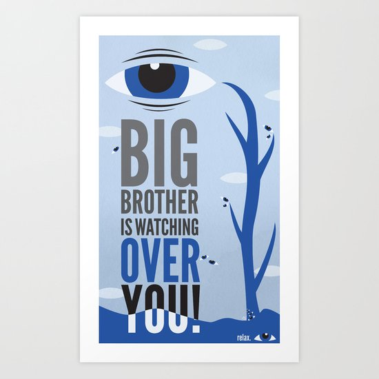 Big Brother. Art Print