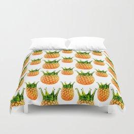 Pineapple? kingapple! Duvet Cover