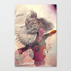 reverb face  Canvas Print