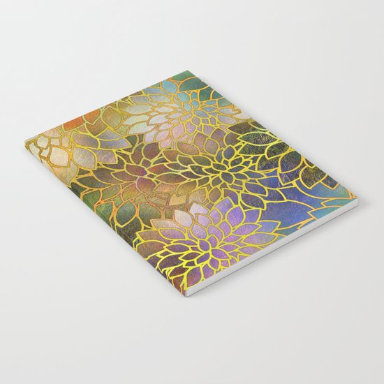 Floral Abstract 3 Notebook