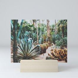 The Flora Of The Majorelle Garden Mini Art Print