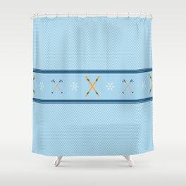 Sweater Season Shower Curtain
