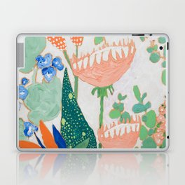 Proteas and Birds of Paradise Painting Laptop & iPad Skin