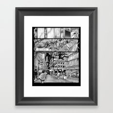 BounD: Issue 01 Page 10 Framed Art Print
