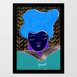 Libro Art Print
