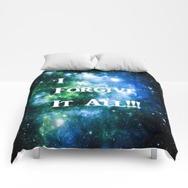 Blue Green Galaxy : I Forgive It All Comforters