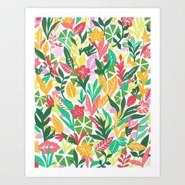 Bloom Lagoon Art Print