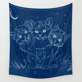 Cerberus as a Kitten Wall Tapestry