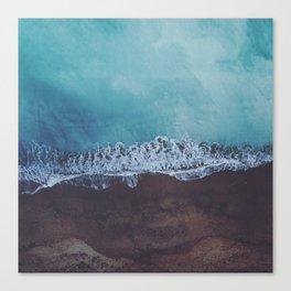 Oceans away Canvas Print
