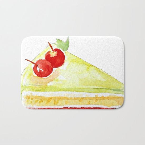 Lime Cake Bath Mat