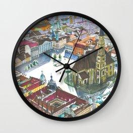 Unirii square Wall Clock