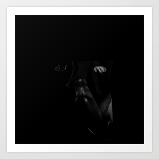 What Remains from A LOOK INSIDE Art Print