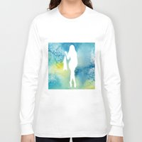 sexy Long Sleeve T-shirts featuring Sexy by Cs025