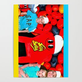 Jelly Belly Family Photo Poster