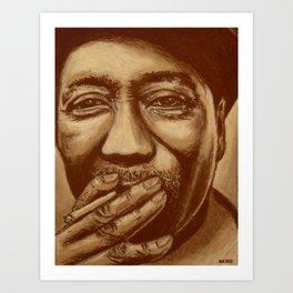 """mississippi man"" Art Print"
