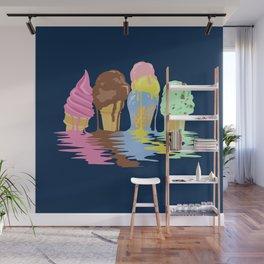 Ice Cream Dream Wall Mural