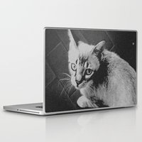 gustav klimt Laptop & iPad Skins featuring Gustav. by Claude Latour