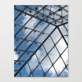 Through The Pyramid Canvas Print