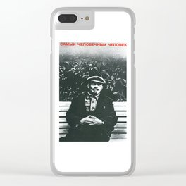 Russia, URSS Vintage (11) Clear iPhone Case