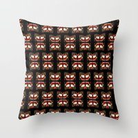 givenchy Throw Pillows featuring Givenchy mask by cvrcak